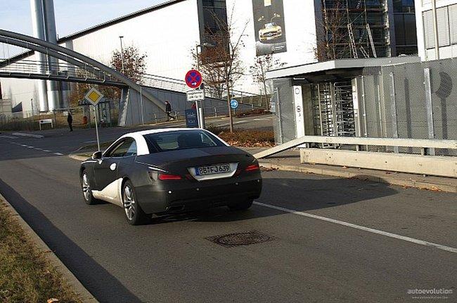 Indiscrétions sur la nouvelle Mercedes SL