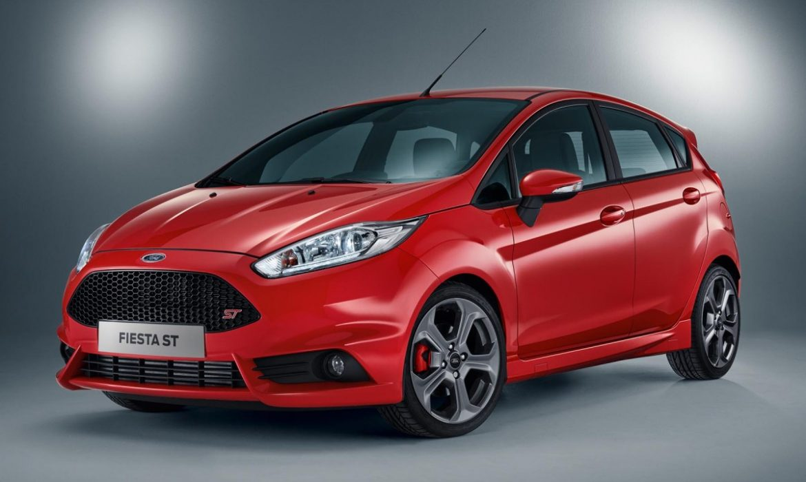 Images officielles de la Ford Fiesta ST 5 portes