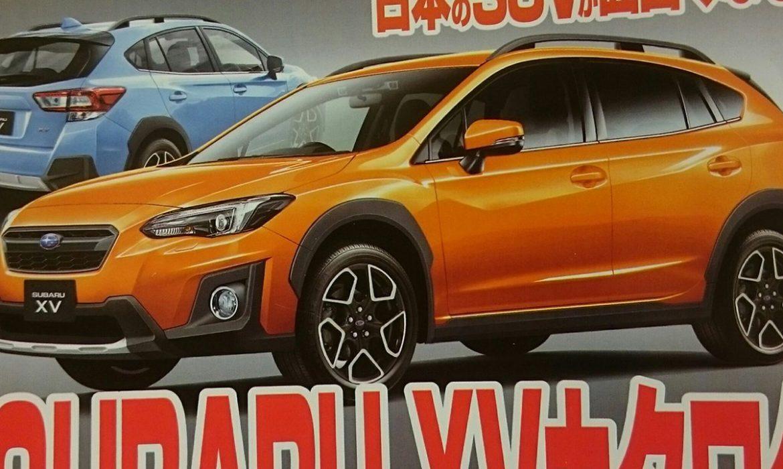 Teaser de la Subaru XV