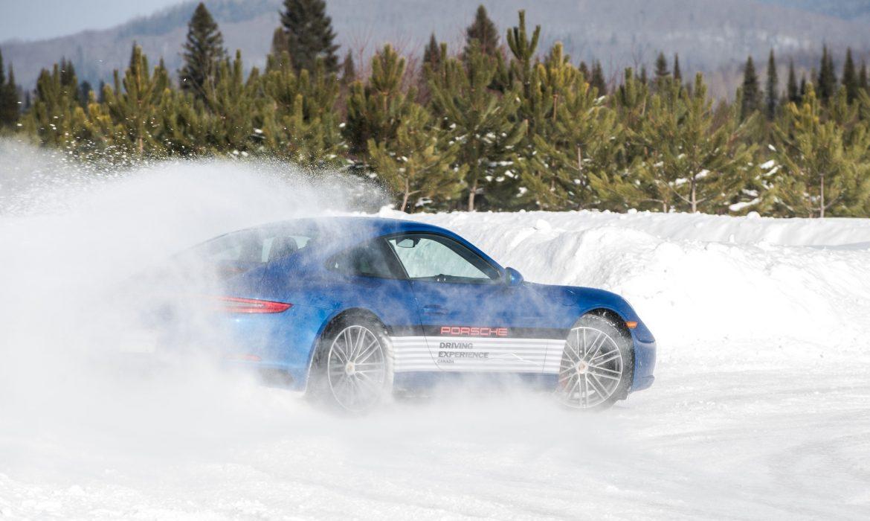 Porsche Camp4 en Finlande