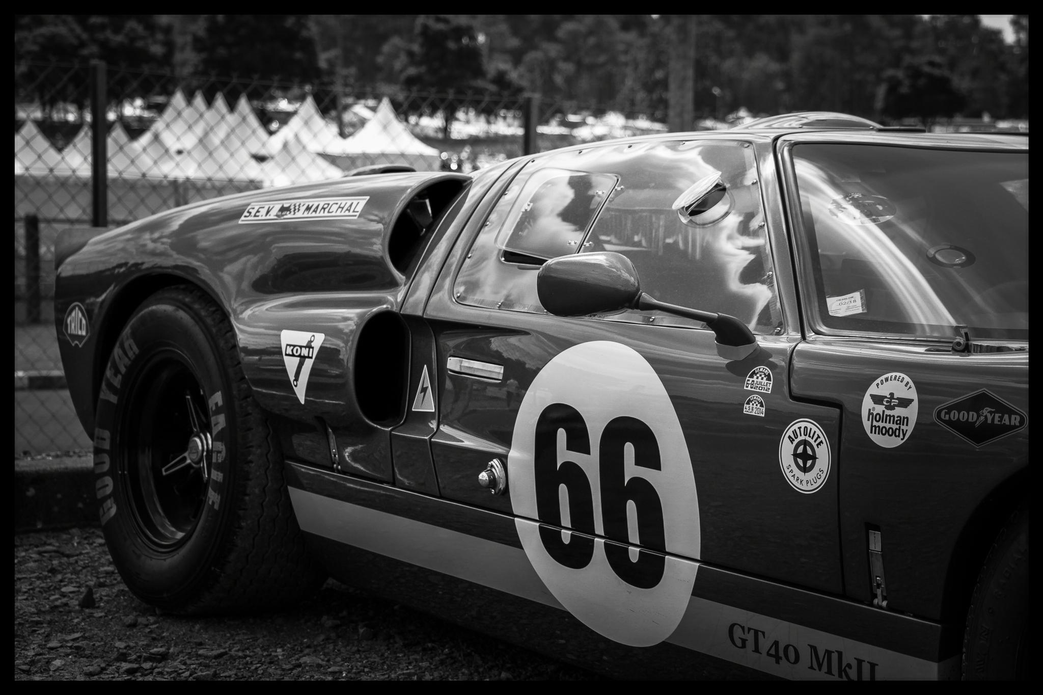 Ford au Le Mans Classic 2012