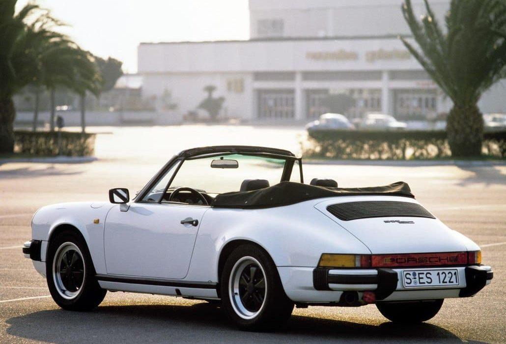 Porsche 911 SC Cabriolet de 1982