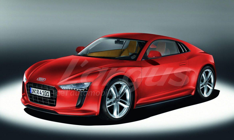 La future Audi TT