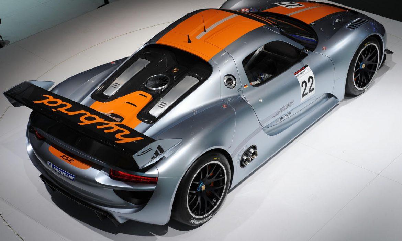 La Porsche 918 Coupé présentée à Detroit ?