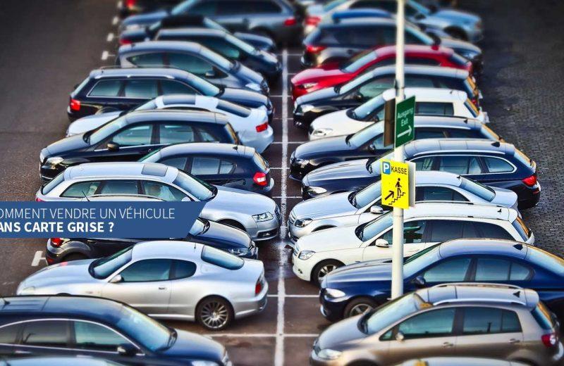 Comment vendre une voiture quand on a perdu la carte grise ?