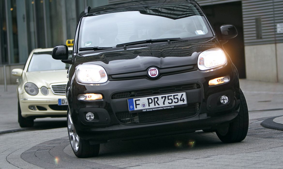 Fiat Panda 4X4 au Salon de Paris