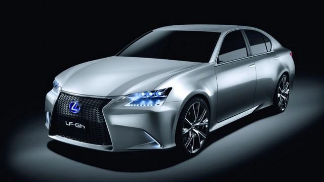 La Lexus GS en version hybride