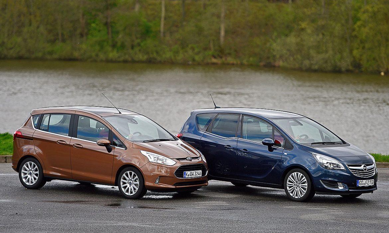 Ford B-Max ou Opel Meriva ?