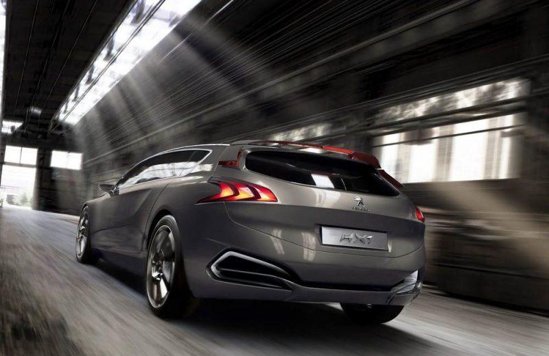 La nouvelle Peugeot HX1