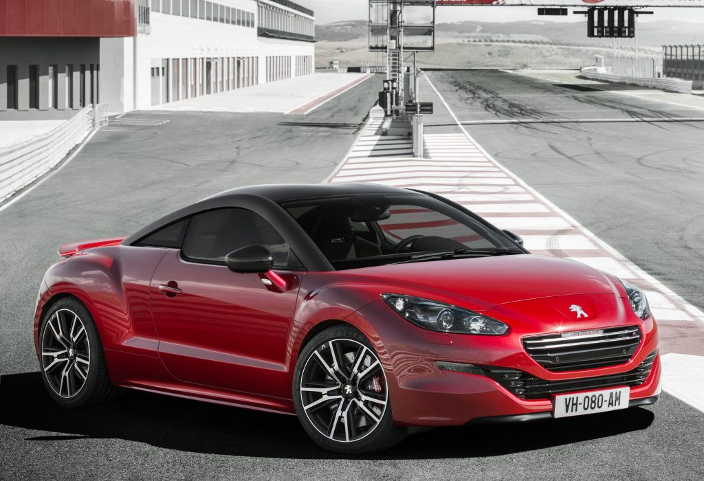 Nouvelle Peugeot RCZ R