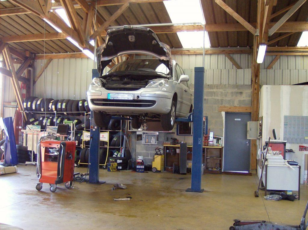 Propreté garage auto