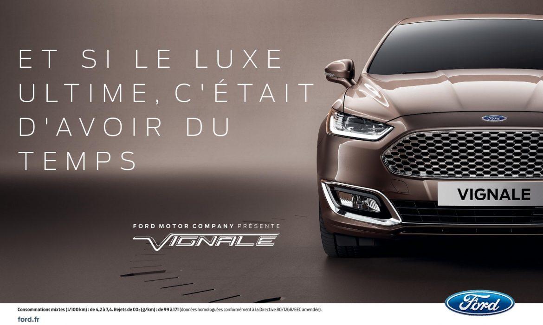 Ford se lance dans le premium avec des ambitions