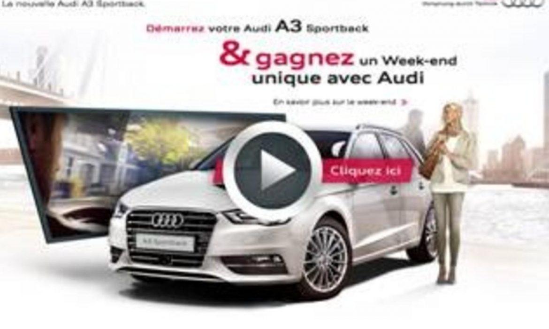 Gagnez des week-ends en Audi A1 !