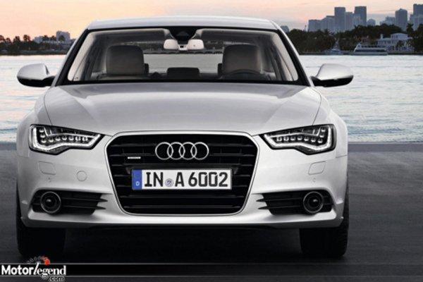 Nouvelle Audi A6 dévoilée
