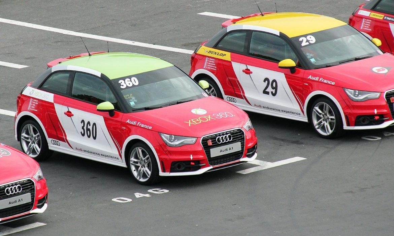 Première session des Audi endurance experience 2012