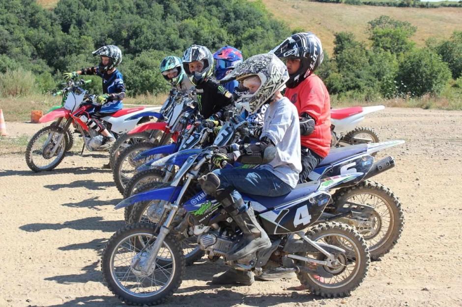 balades à moto cross