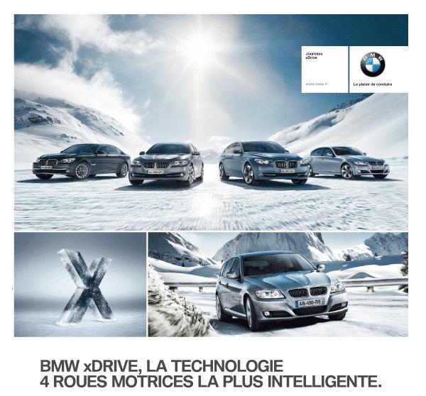 BMW XDrive : partout, tout le temps et par tous les temps