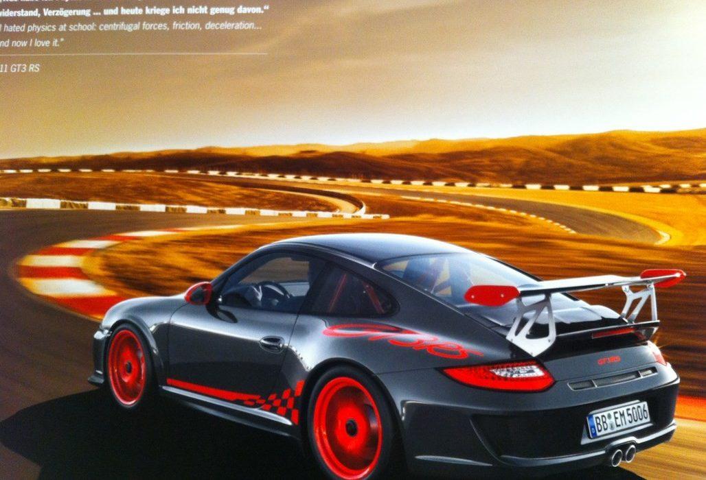 Calendrier Porsche 2012