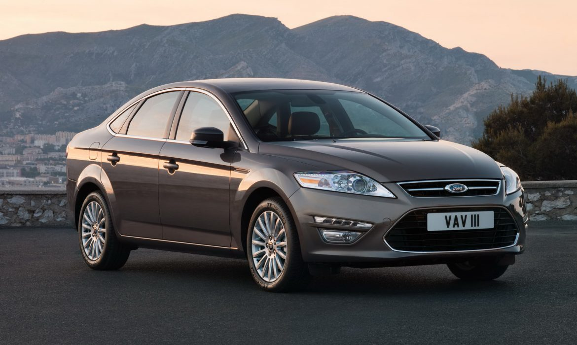 Nouvelle Ford Mondeo facelift (2010)