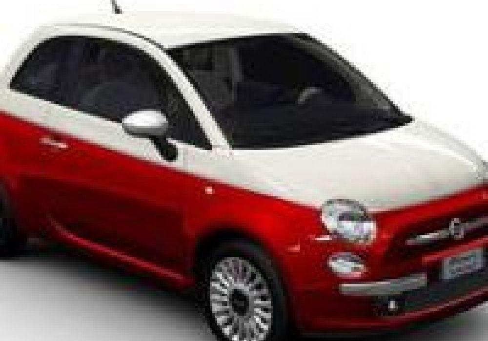 La Fiat 500 Bicolore