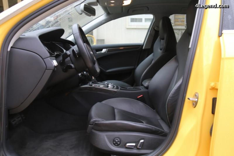 Audi RS 4 Avant : ouverture des commandes