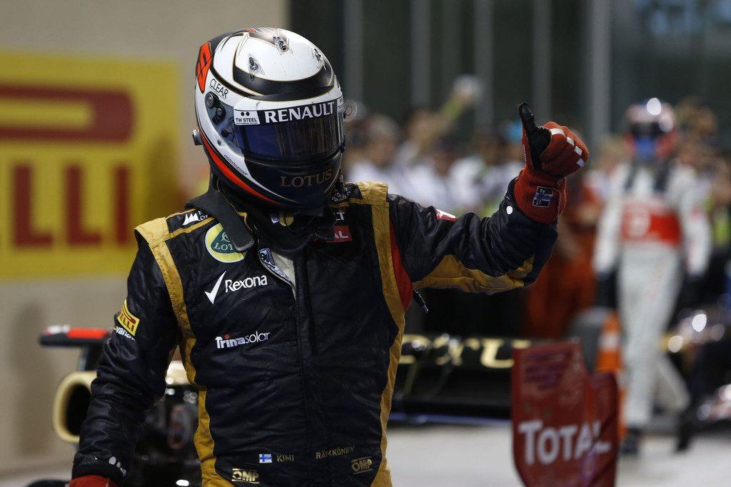 Victoire de Kimi Raikkonen à Abu Dhabi