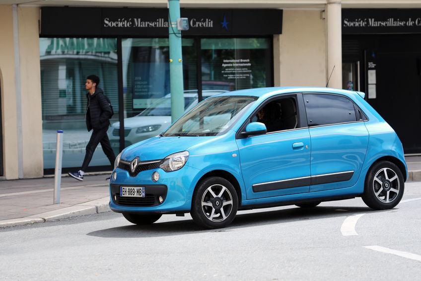 Renault Twingo 3 bleue