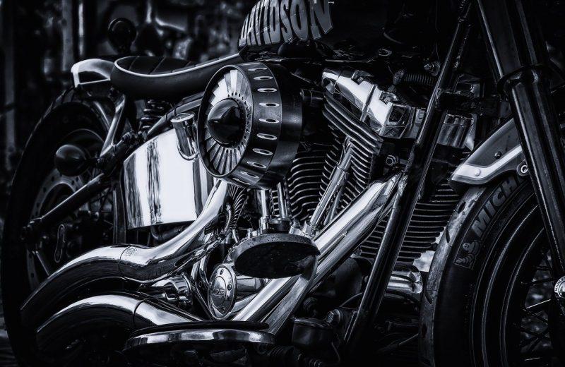 Une Harley Davidson