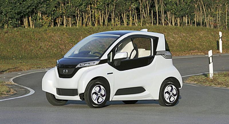 Le prototype Honda Micro Commuter dévoilé