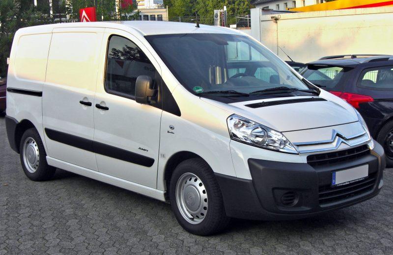 Photo de la Citroën Jumpy illustrant l'article sur les nouvelles règles d'émissions de CO2