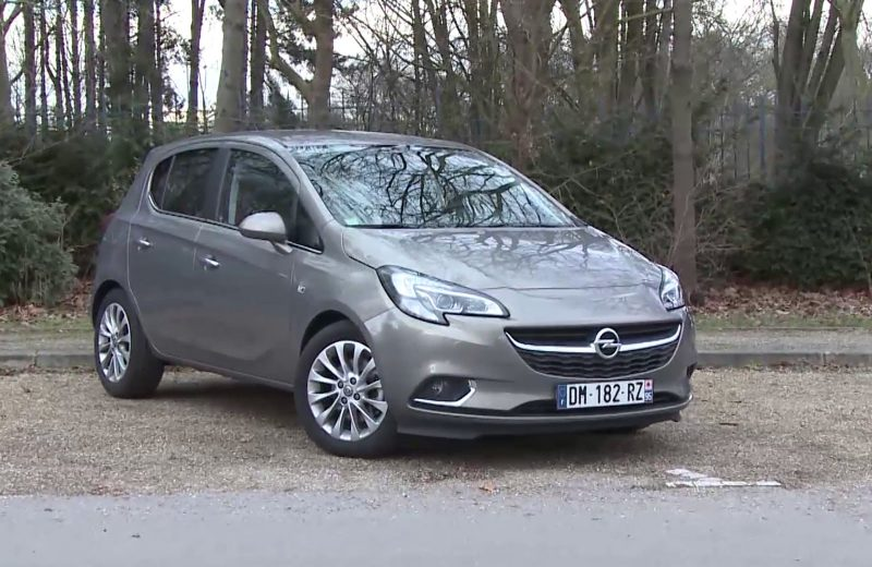 Essai de la nouvelle Opel Corsa EcoFlex