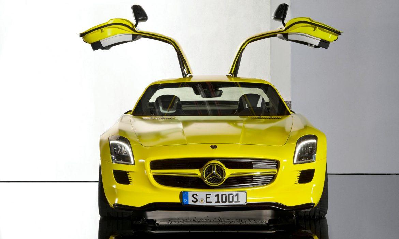 Mercedes SLS AMG E-CELL : conduite sous haute tension