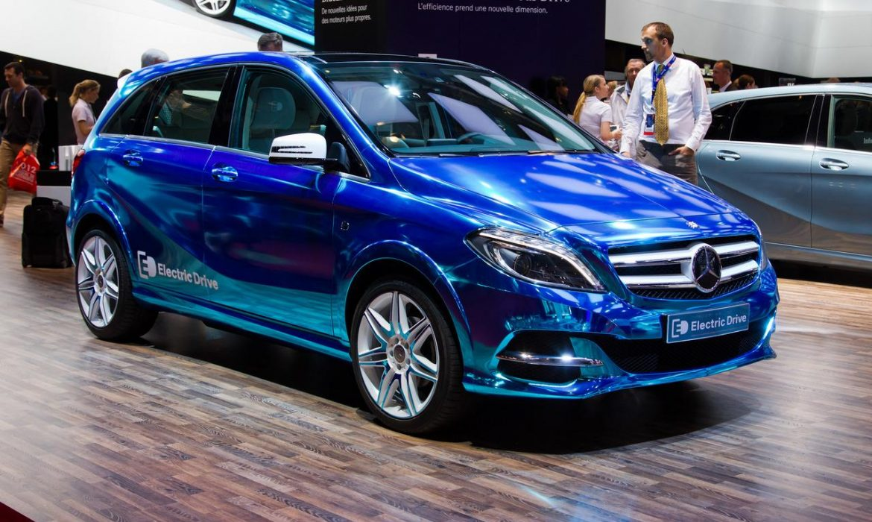 Concept Mercedes Classe B Electric Drive