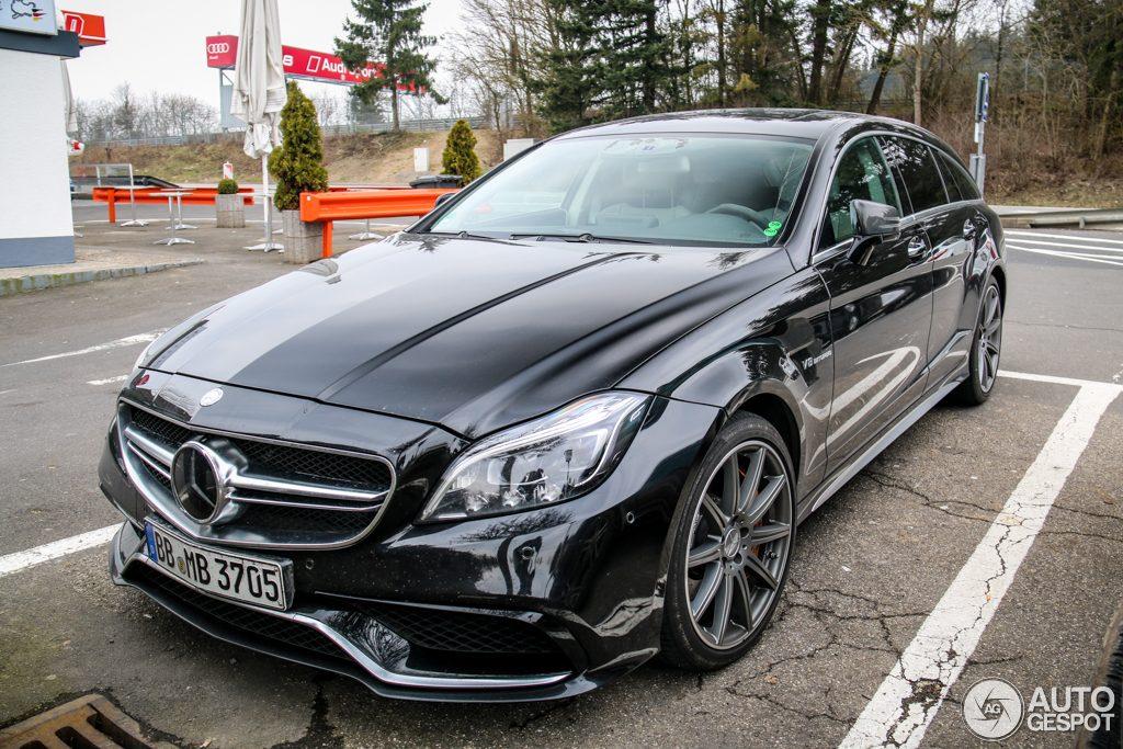 Première photo de la Mercedes CLS break