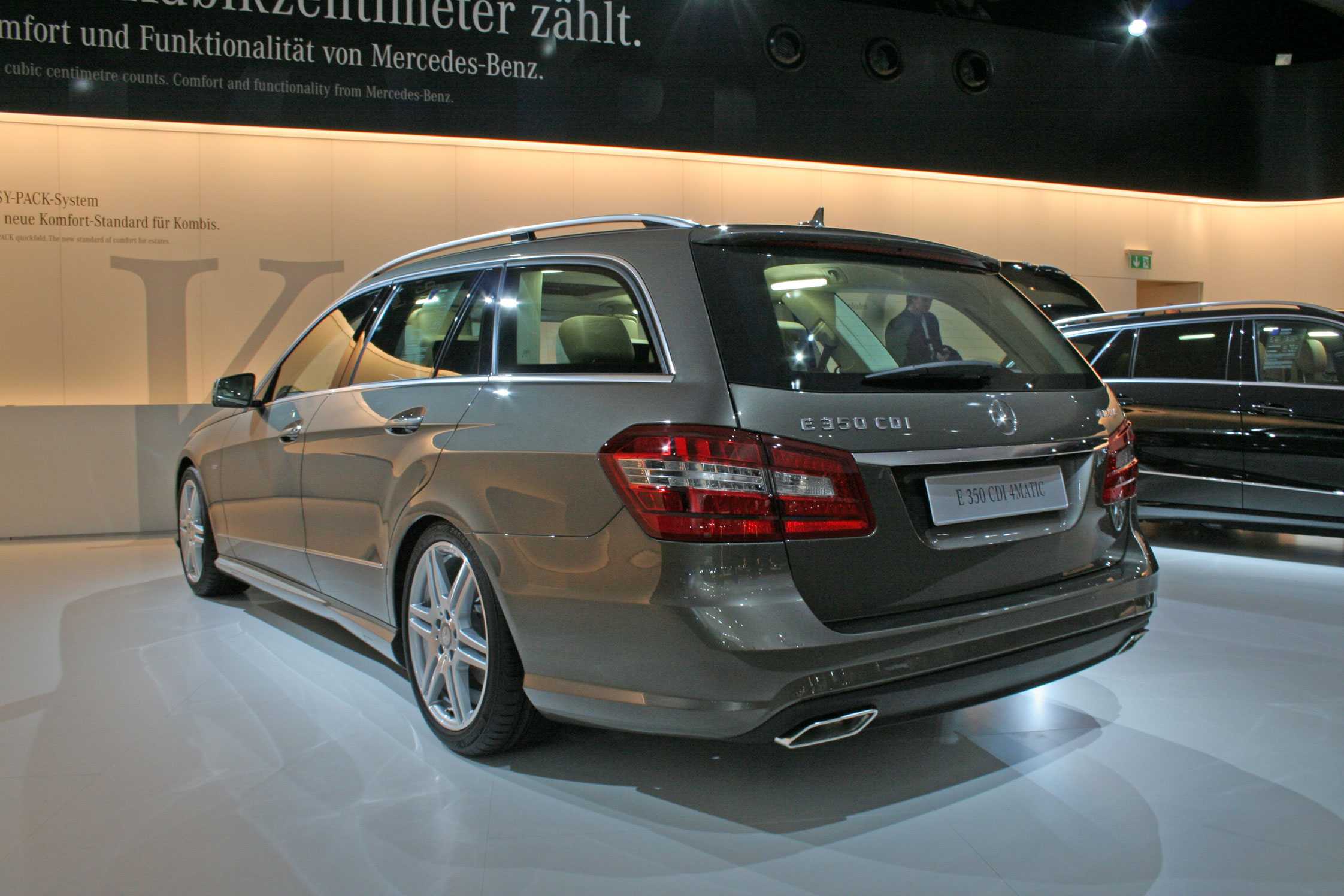mercedes classe e 350 cdi 4matic break auto actu. Black Bedroom Furniture Sets. Home Design Ideas