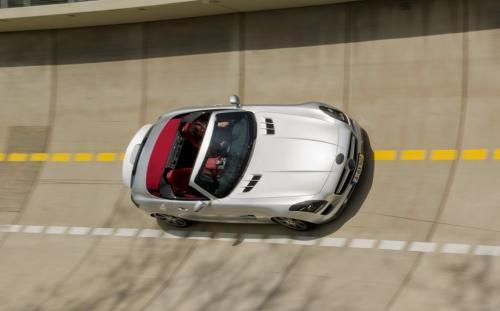 Le Roadster Mercedes SLS dévoilé