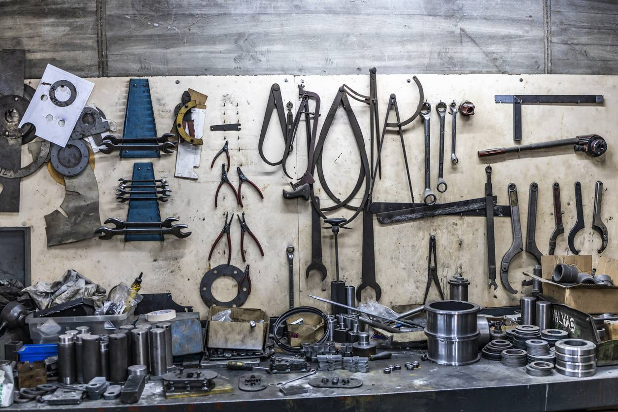 rangement outils du mécanicien