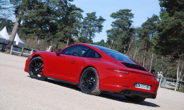 Nouvelle 911 Carrera 4 GTS