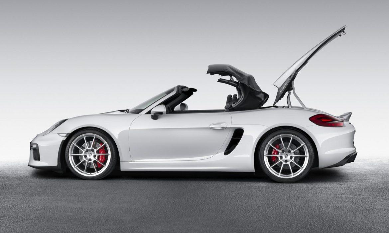 Actualité Porsche Boxster