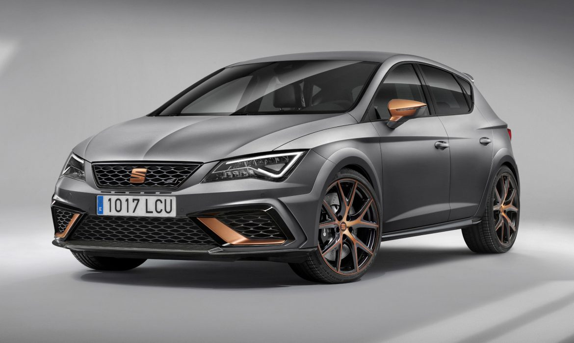 Photo officielle de la nouvelle Seat Leon