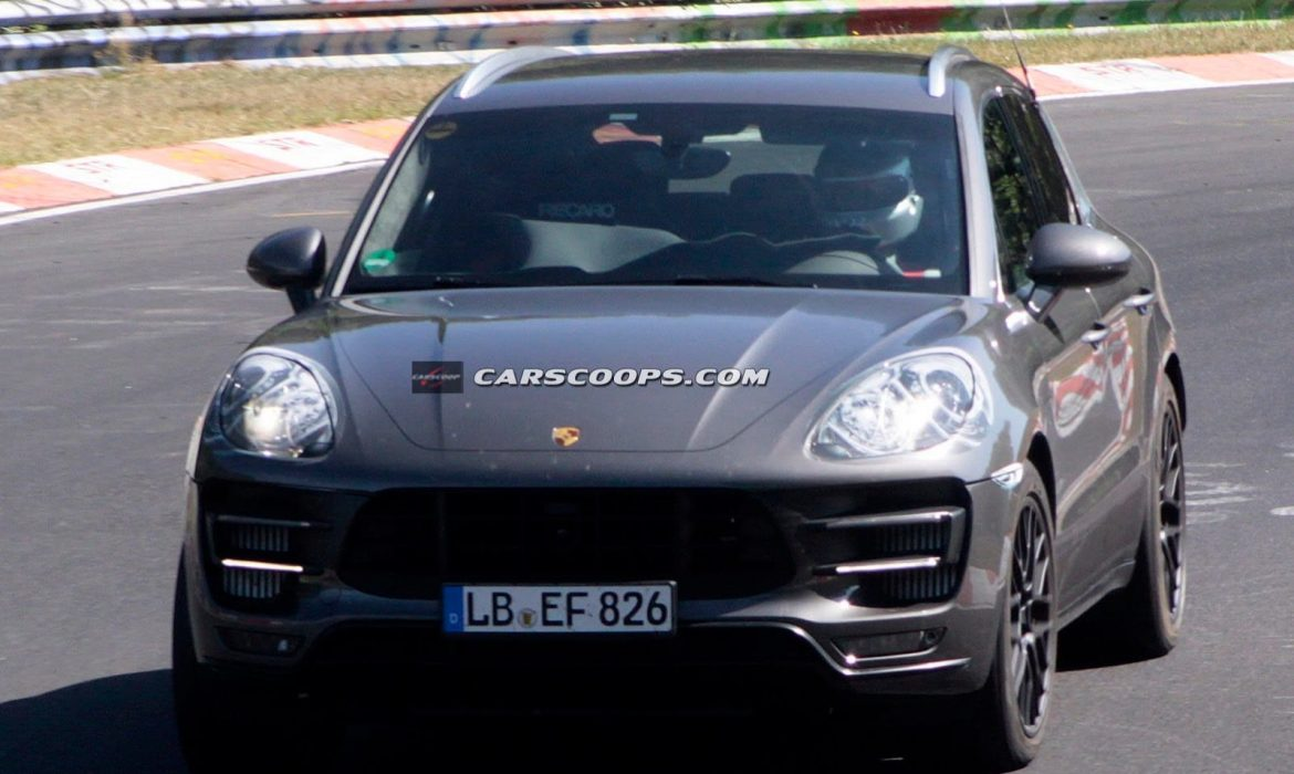 Photo espion de la Porsche Macan