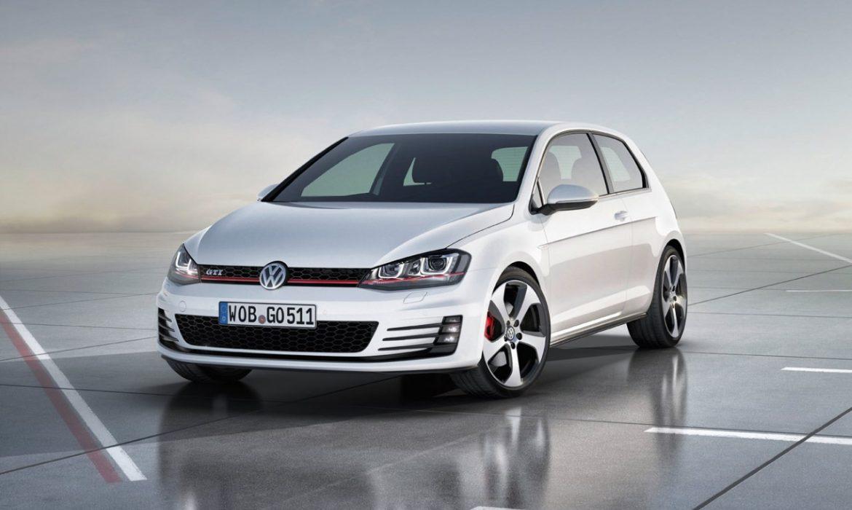 Photo officielle de la nouvelle Volkswagen Golf 7