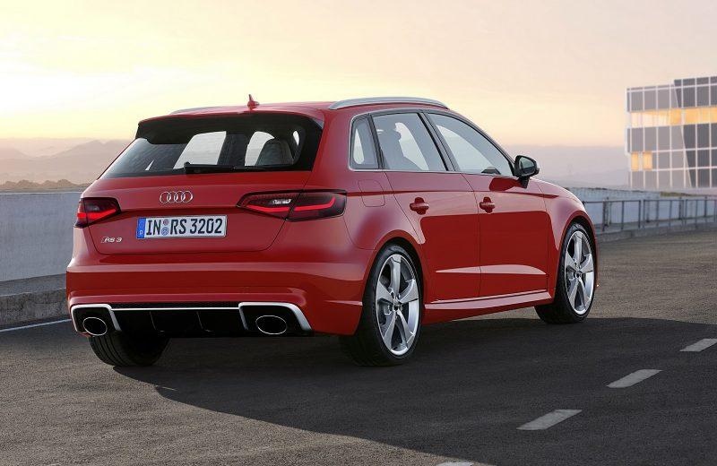 Photo espion de la nouvelle Audi S3